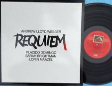 Requiem ORIG OZ LP Andrew Lloyd Webber Placido Domingo Sarah Brightman