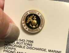 Honorable Discharge, Marine Corps. Prong And Clutch-Usmc