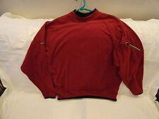 Columbia Grt Omni Dry Sweatshirt/Shirt Pullover Sz Small Maroon Red Long Sleeve