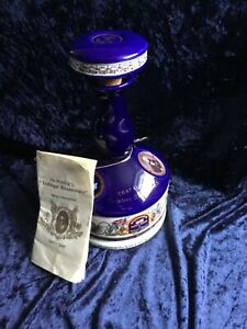 Vintage Wade Pussers Rum Lord Nelson Battle of Trafalgar Decanter Nelsons Blood
