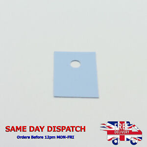 TO-220 Thermal Conduction Transistor Silicone Sheet Insulation Pad Insulator