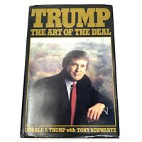 Vtg 1987 Trump : The Art of the Deal by Donald J. Trump and Tony Schwartz 1st ed