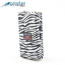 Monster-From Guard Dog 18M Volt Recharge Stun Gun LED Light-Zebra Black+White
