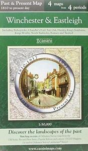 Winchester & Eastle(Cassini Pub.Ltd.Past & Pres(Sht.map,2007)NEW.Last of Stock!