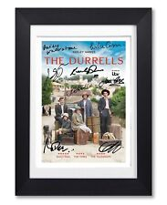 THE DURRELLS CAST SIGNED POSTER PRINT TV SHOW SERIES SEASON PHOTO AUTOGRAPH GIFT