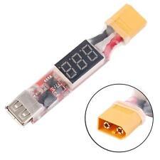 2S-6S Lipo Batería USB Convertidor XT60 Enchufe Móvil cargador adaptador IP
