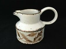 Midwinter WILD OATS STONEHENGE Speckled Brown Small Pitcher Creamer - FREE SHIP!
