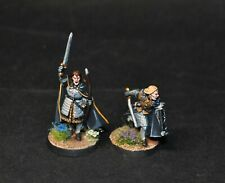 Warhammer lotr Middle Earth Cirion and Beregond painted Minas Tirith Gondor