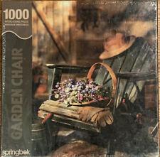 Springbok 1000 pc Sealed Garden Chair Jigsaw Puzzle
