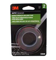 3M 03609 Super Strength Molding Tape, 1/2 Inch