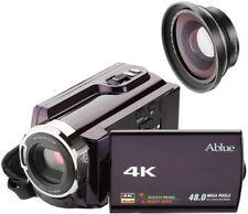 Camcorders, Ablue 4K Ultra-HD Portable 30FPS WIFI Digital Video Camera, IR Night