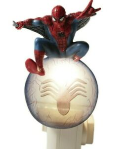 Super Hero Spider Man Night Light Marvel Comics Westland Gift New In Box