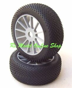 Gomme Tire 1/8 BUGGY GRP CUBIC B for MBX7 8 Losi HB RK Kyosho MX03B CRAZY PRICE