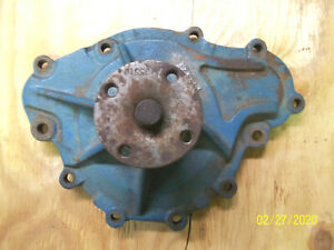 pontiac 400 water pump 1971 72 gto firebird tran am 11 bolt eleven bolt
