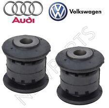 For Audi VW Pair Set of Front Forward Control Arm Bushings Genuine 1K0 407 182