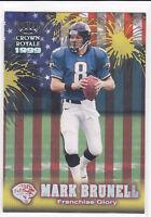"1999 MARK BRUNELL - Crown Royale ""Franchise Glory"" Football Card # 11 - Jaguars"