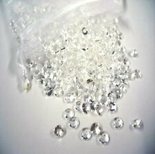 1000 Clear Wedding Decoration Scatter Table Crystals Diamonds Confetti