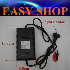 12 Volt 1.6A Trickle Battery Charger ATV QUAD BIKE MOTOR DIRT PIT PRO BUGGY Dune