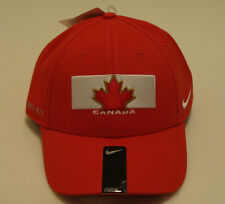 Team Canada 2014 Winter Olympics Hockey Dri Fit Red Flex Fit Hat Cap OSFM