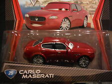 DISNEY PIXAR CARS CARLO MASERATI PC SAVE 5% WORLDWIDE FAST SHIP