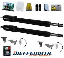 KIT AUTOMAZIONE CANCELLO A BATTENTE RIB ROGER SEA SEAV TAU TELCOMA PRASTEL df