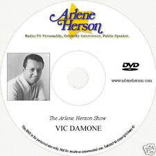 Vic Damone TV Interview  (30 Minutes)  DVD
