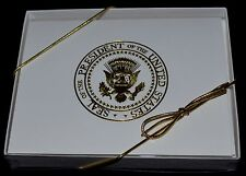 OFFICIAL WHITE HOUSE PRESIDENTIAL SEAL NOTE/THANK YOU CARDS~GORGEOUS~NEW ITEM~