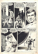 The Six Million Dollar Man Magazine #2 p.45 Lee Majors 1976 art by Jack Sparling
