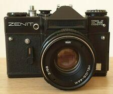 Macchina fotografica Reflex Zenit Em Obiettivo Helios-44m Vintage con custodia
