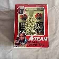 A Team Rescue Phone Set In Box Mr. T Tv Show