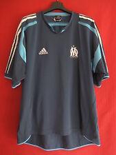 Maillot Olympique de Marseille Adidas Entrainement OM Vintage Bleu - 6