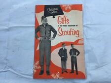 1958 Boy Scouts Explorer Uniforms Accessories Equipment Gifts Christmas Catalog