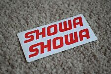 Showa Sport Racing Rally Motorsport Race Car Decal Stickers Badge Logo 50mm
