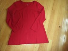 Liz Claiborne Red Tunic XS New
