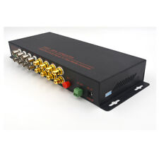 Multifunction Video Audio RS-485 Data Optical Media Converters TX RX 1310/1550
