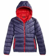 Weatherproof 32 Degrees Boys Youth Packable Down Jacket Insignia Blue XL (18/20)