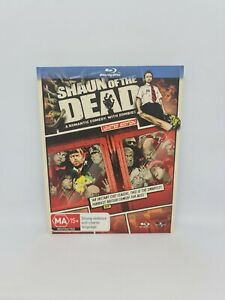 SHAUN OF THE DEAD Limited Edition Blu-ray Region B Very Good Condition FREE SHIP
