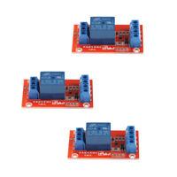 3pcs 3V 1 Channel Relay Module Board Shield For   Raspberry Pi