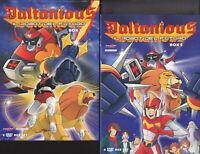 12 Dvd x 2 Box Cofanetto DALTANIOUS IL ROBOT DEL FUTURO serie completa nuovo ita