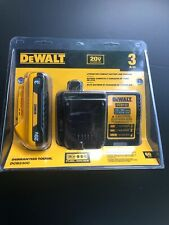 Dewalt Dcb230C 20V Compact Battery & Charger Set Dcb112 combo kit Genuine