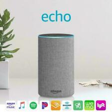 Echo (2nd Generation) - Smart speaker with Alexa - Charcoal Grey  - Brand NEW