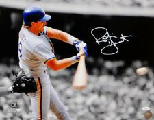 Robin Yount Autographed Milwaukee Brewers 16x20 PF BW & Color Photo- JSA W Auth