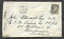 p438 - PICTOU NS 1894 Cover to Scotland. 5c SQ