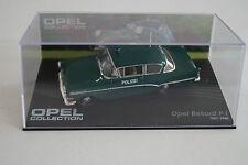 Modello di auto 1:43 OPEL Collection OPEL REKORD pi 1957-1960 polizia n. 85