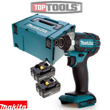 Makita DTD152Z LXT 18v cuerpo del controlador de impacto con 2 X 5Ah Pilas & 821551-8 caso