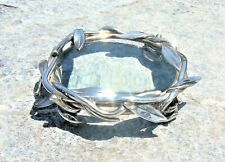 MARIOS VOUTSINAS GREEK ARTIST LISTED ART OBJECT MAGNIFYING GLASS SILVER SIGNED