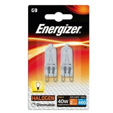 10 x G9 33w=40w ENERGIZER DIMMABLE ECO HALOGEN ENERGY SAVING bulbs Capsule 240V