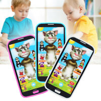 Kids Toy Phone Learning Study Music Mobile Phone Screen Educational Toys