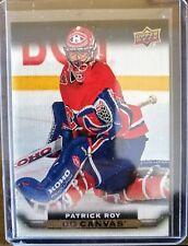 2015-16 Upper Deck Series 2 Canvas - Patrick Roy Montreal Canadiens