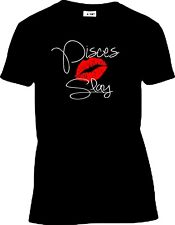 Birthday Zodiac/Horoscope kiss Slay T-Shirt (black or white) Zodiac Pride!!!